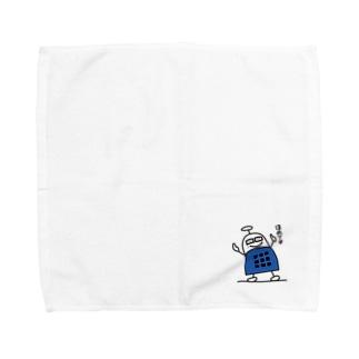 ブロックロボット・うーたーまん Towel handkerchiefs