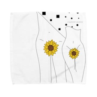 summer  vacation Towel handkerchiefs