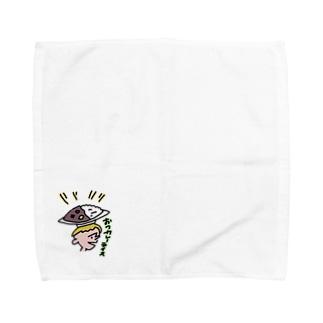 おつカレーライス Towel handkerchiefs