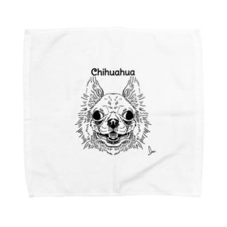 チワーワ Towel handkerchiefs