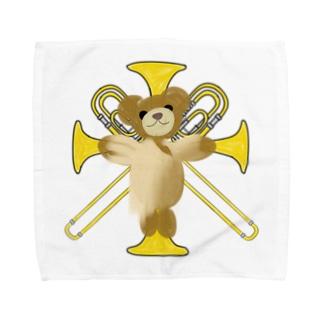 かなふぉぉぉの十字架トロンボーン Towel handkerchiefs