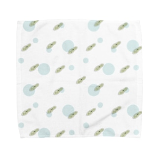 微生物・ゾウリムシ Towel handkerchiefs