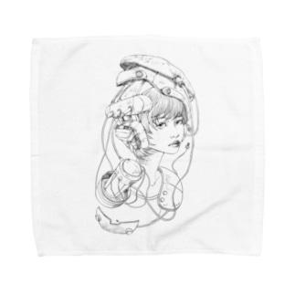 retlo future 1 Towel handkerchiefs