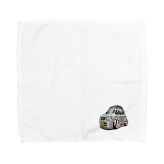 USAcafeティンカーベルのクレープやさんのサクラベースとゆかいな仲間たち Towel handkerchiefs