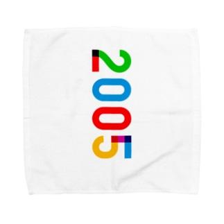 marikiroの2005_西暦 Towel handkerchiefs