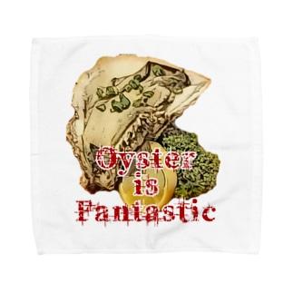 三重県産岩牡蠣1個650円 Towel handkerchiefs