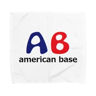 アメリカンベースのアメリカンベース ロゴ Towel handkerchiefs