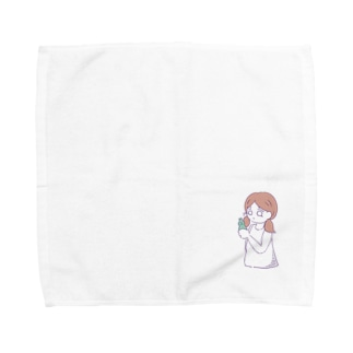 hidamigiの涙ちょちょぎれガール「炭酸」 Towel handkerchiefs