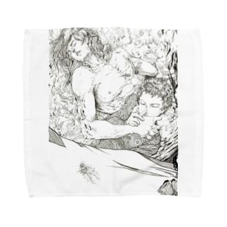 時の旅人009 Towel handkerchiefs