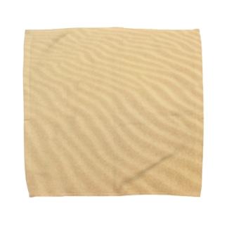 鳥取砂丘の砂紋 Towel handkerchiefs