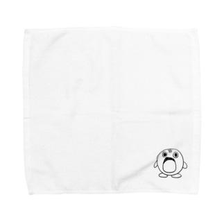 ふしぎの海のポトフ(モノクロ) Towel handkerchiefs