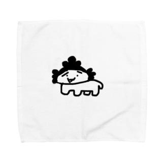 シロザエさん Towel handkerchiefs
