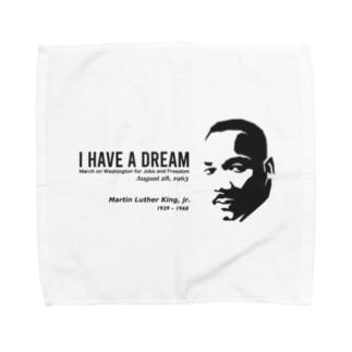 MARTIN LUTHER KING Towel handkerchiefs