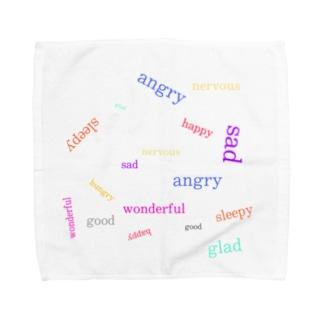 心の中の声 Towel handkerchiefs