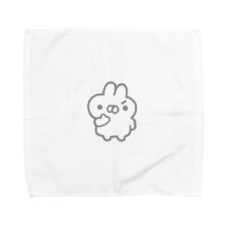 もくろむうさぎ Towel handkerchiefs