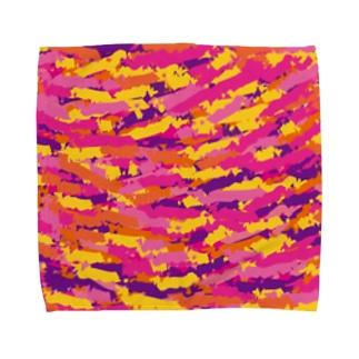 柄 Towel handkerchiefs