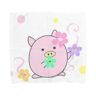 おとめ座ぷくちゃん Towel handkerchiefs