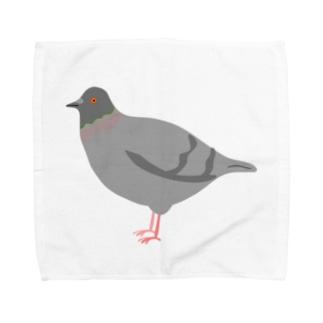 イエネコの鳩 Towel handkerchiefs
