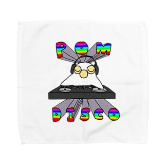 POM・DISCO Towel handkerchiefs