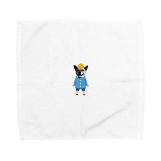 いちごちゃん(幼稚園児バージョン) Towel handkerchiefs