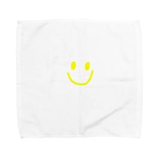 yuukanoaのにこちゃん Towel handkerchiefs