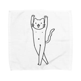 ニャップル星人ハンカチ2 Towel handkerchiefs