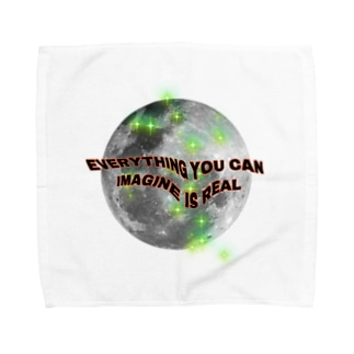 everything u can imagine is real -jazlin Towel handkerchiefs