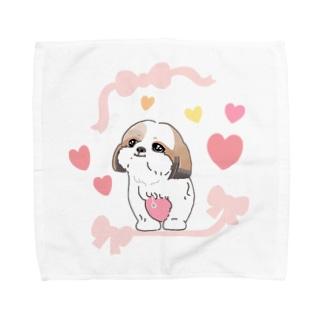 シーズーちゃん Towel handkerchiefs