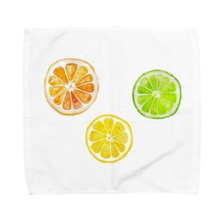 シトラスフルーツ! Towel handkerchiefs