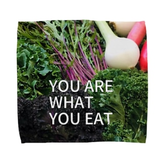 You are what you eat  Towel handkerchiefs