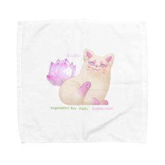 レンコン  Towel handkerchiefs