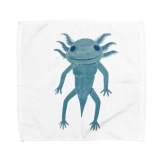 ウーパールーパぁぁぁん Towel handkerchiefs