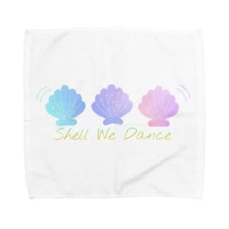 Shell We Dance Towel handkerchiefs