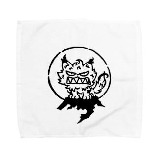 皇噛み々 Towel handkerchiefs