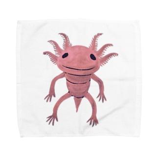 ウーパールーパぁぁぁぁ Towel handkerchiefs