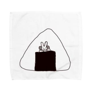 おにぎりおやすみ Towel handkerchiefs