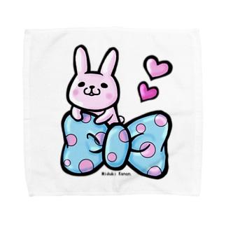 ぷにぷにうさちゃん(*'×'*) Towel handkerchiefs