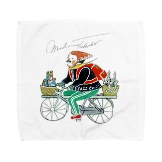 マダム・タカコshop (byジャズ ビレバン)のまってる人がいるから、それッッッ… Towel handkerchiefs