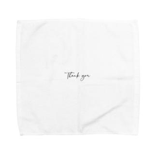 Thank you Towel handkerchiefs