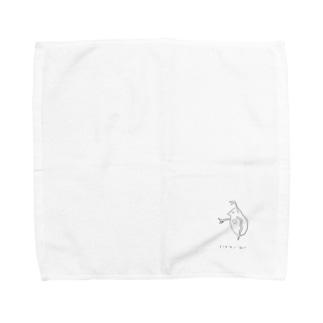 Noa Inoue / sasakureの寝たきりのみじんこ Towel handkerchiefs