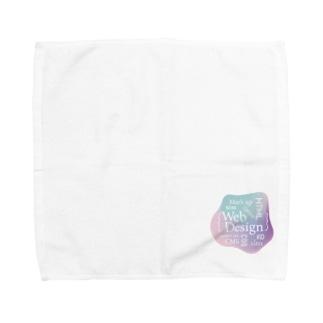 ウェブデザイン タイポグラフィ Towel handkerchiefs