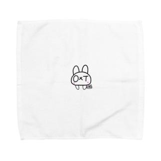 オクトうさぎ Towel handkerchiefs