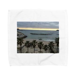 海大好きグッズ Towel handkerchiefs