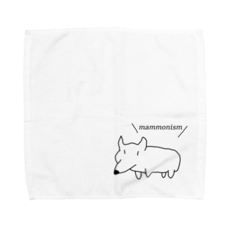 コーギー主張 Towel handkerchiefs