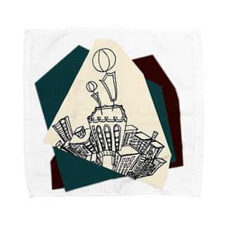 バルーン Towel handkerchiefs