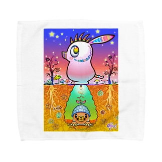 ワイルド豚モグラ Towel handkerchiefs