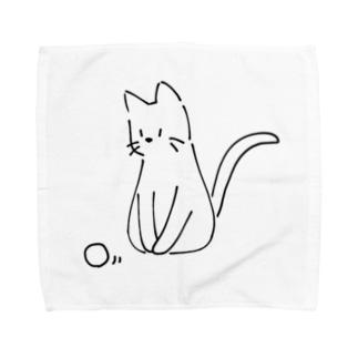 ころころ 猫 Towel handkerchiefs