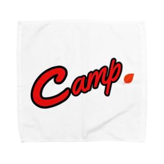 カープ風 キャンプ Towel handkerchiefs