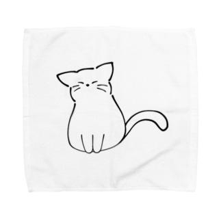 ふくふく 猫 Towel handkerchiefs