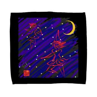 星に踊る Towel handkerchiefs
